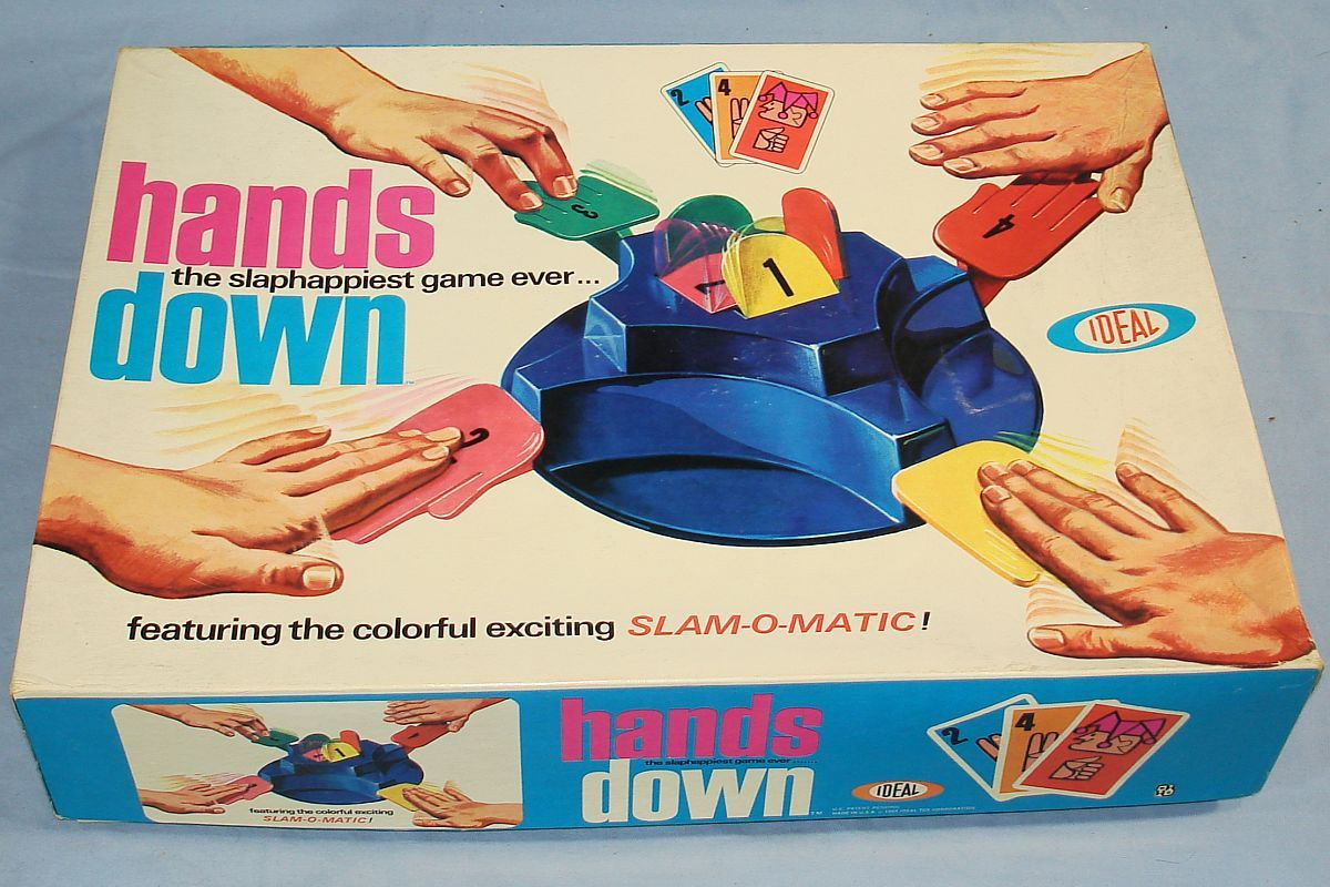 Hands Down Game Vintage Ideal Hands Down 2525 4 The