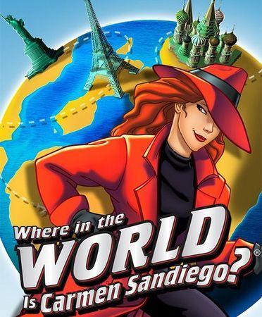 Where In The World Is Carmen Sandiego By Gameloft 2009 Free Downloads Carmen Sandiego Kids Tv Shows My Childhood Memories