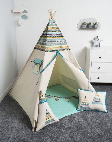 tipi zelt indianer kinderzimmer tipi enfant tente tipi und enfant. Black Bedroom Furniture Sets. Home Design Ideas