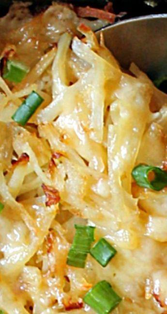 Irish Cheddar & Cabbage Hash Brown Skillet – The Kitchen Prep Blog