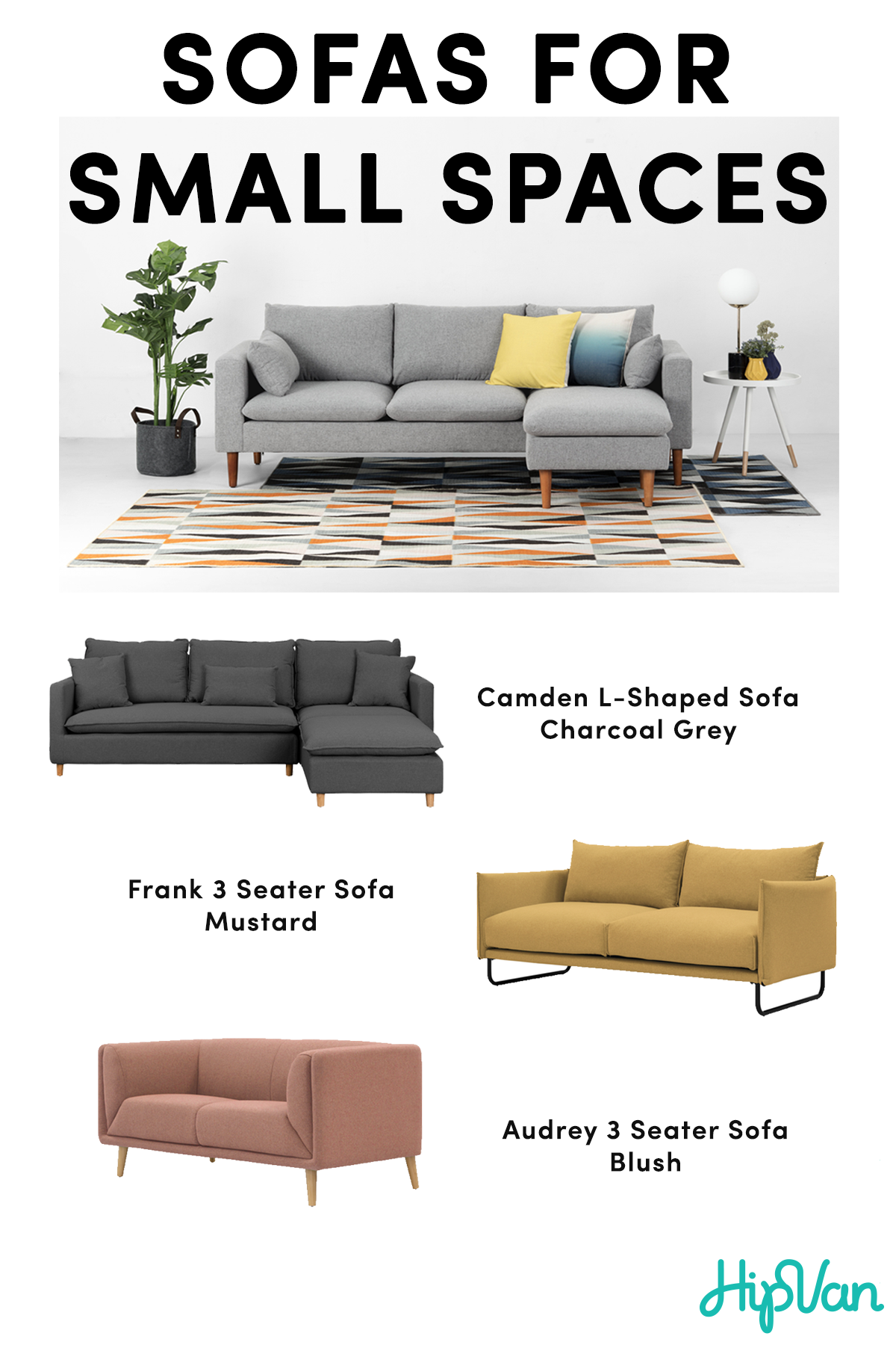 These Smaller Scale Sofas Are What You Need If You Are Finding The Perfect Sofa For A S Sofas For Small Spaces Comfy Sofa Living Rooms Scandinavian Sofa Design