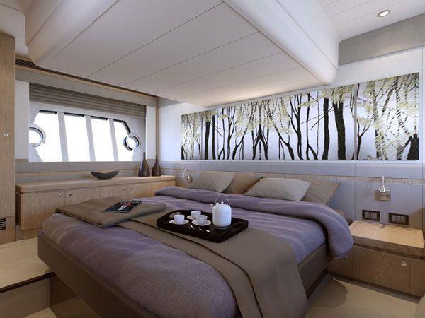 Deko-Wand mit integrierter Beleuchtung-Schlafraum   Schlafzimmer ...