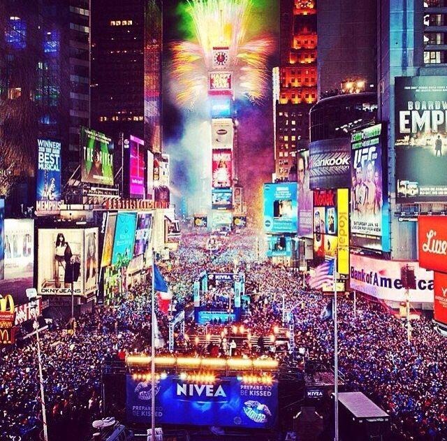 NYC on New Year