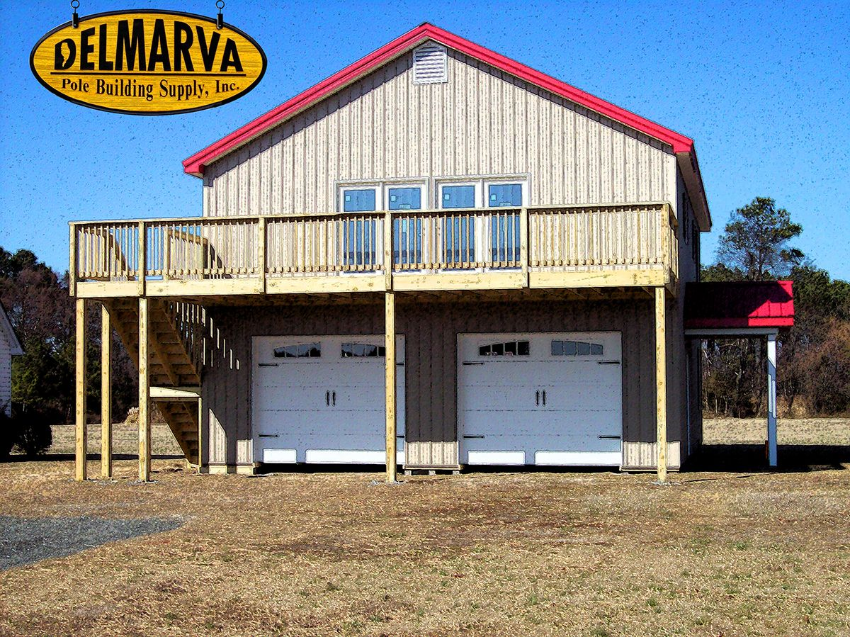 30x40x18 pole building house residential pole for Residential pole barn