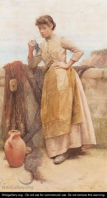 walter Langley in thought