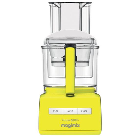 Robot Multifonction Magimix 5200 Xl Premium Jaune Kitchen Appliances Kitchen Popcorn Maker