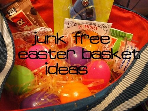 Real food healthy easter basket ideas with no junk basket junk free easter basket ideas better than your normal list this is frugal negle Gallery