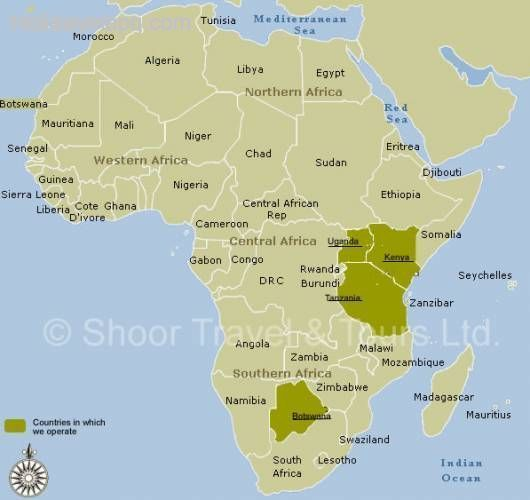 Awesome Africa Map Of Africa Africa Tourist Africa Map Africa