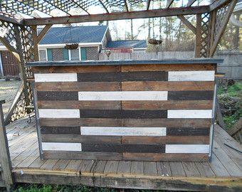 pallet bar for sale. pallet bar / tiki february sale the por drgwoodcreations pallet bar for