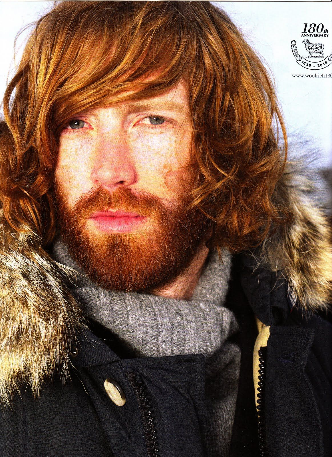 Johnny Harrington Red head. Ginger beard. Freckles. Green eyes. Seriously  928ff0b9013