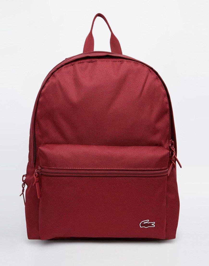 Lacoste+Backpack  32e5e0d540797