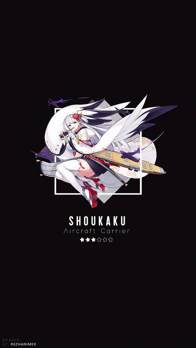 Shoukaku | Wallpaper Android ( Azur Lane ) by AchzatrafScarlet on DeviantArt