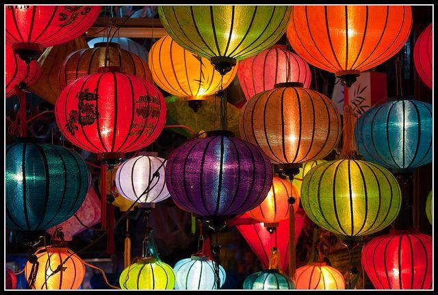 Lanternes de Soie, Hoi An, Vietnam | Captain Flam's