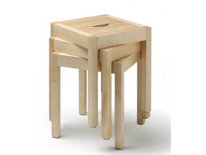 Cool Low Stackable Wooden Stool Seminar Kvj1 By Nikari Design Gmtry Best Dining Table And Chair Ideas Images Gmtryco