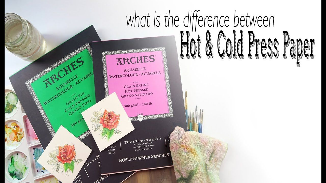 Difference Between Hot And Cold Pressed Paper In 2020 Best