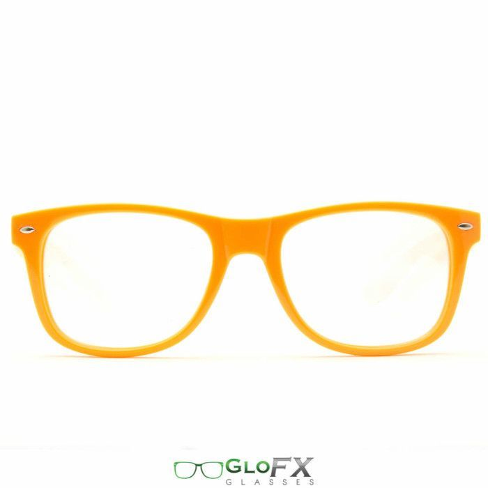 GloFX Ultimate Diffraction Glasses – Orange