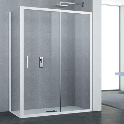 Porta doccia scorrevole Elyt 116122, H 190 cm cristallo 6