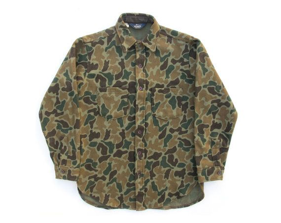 Vintage Woolrich Heavyweight Duck Camo. Mens Fall 2f66f49db