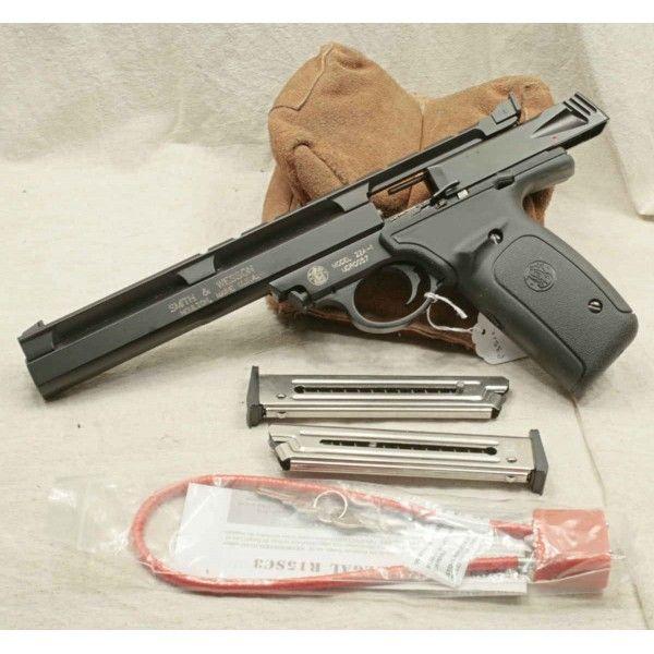 pistolet smith wesson 22a 1 livr avec malette et deux chargeurs nos produits pinterest. Black Bedroom Furniture Sets. Home Design Ideas