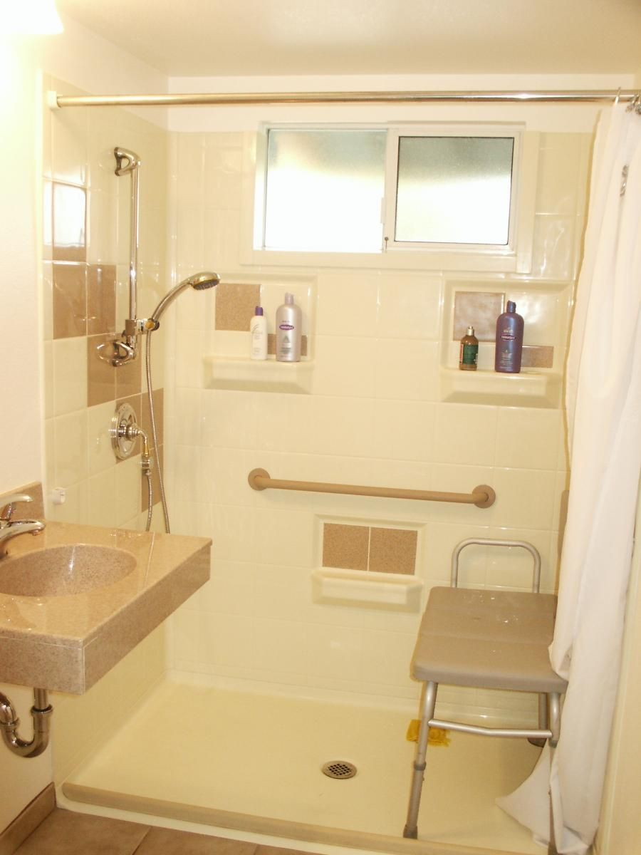 handicap-accessible bathroom designs #wetroomsfordisabled >> see
