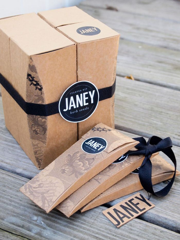 #packaging #package #design #box #seed