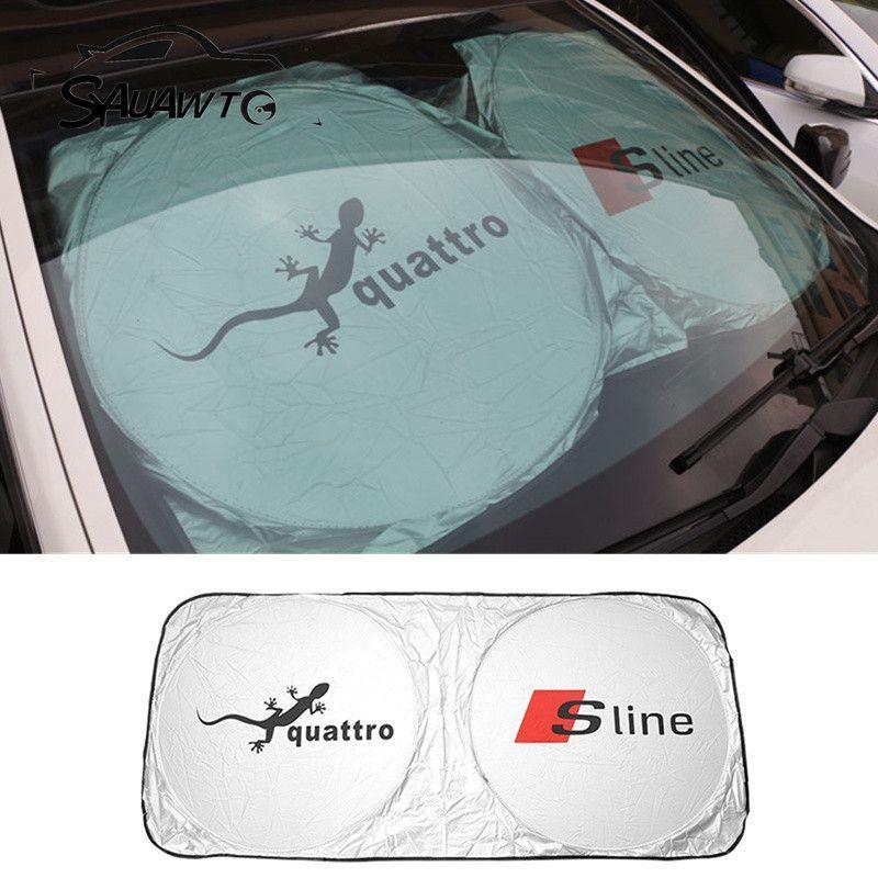 Tyvek Dupont Car Front Windshield Car Accessories Sunshade For Audi A6 C5 C6 A4 B6 B8 80 A1 A8 Tt Q7 Q5 Q3 A3 A5 A7 S Line B5 B7 Car