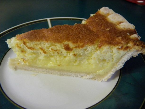 Make and share this Colonel Sanders' Lemon Sponge Pie recipe from Food.com.