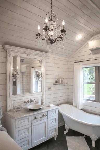 Photo of 65 Cottage Style Master Bathroom Ideas (Photos)