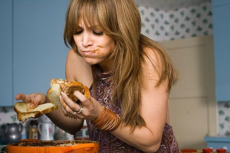Jennifer Lopez Eating Freshly Cooked Stew With Bread In The Film The Back Up Plan Jennifer Lopez Diet Celebrity Diets Diet