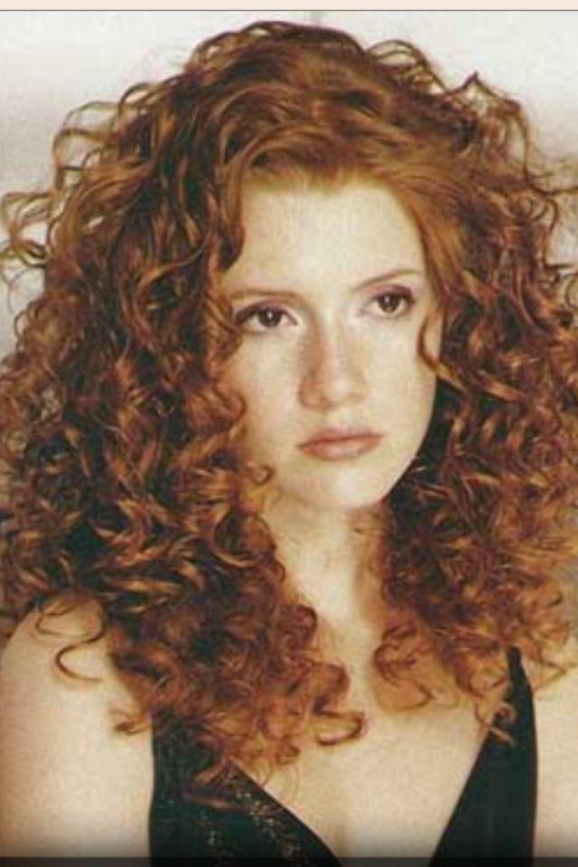 pin curly hair