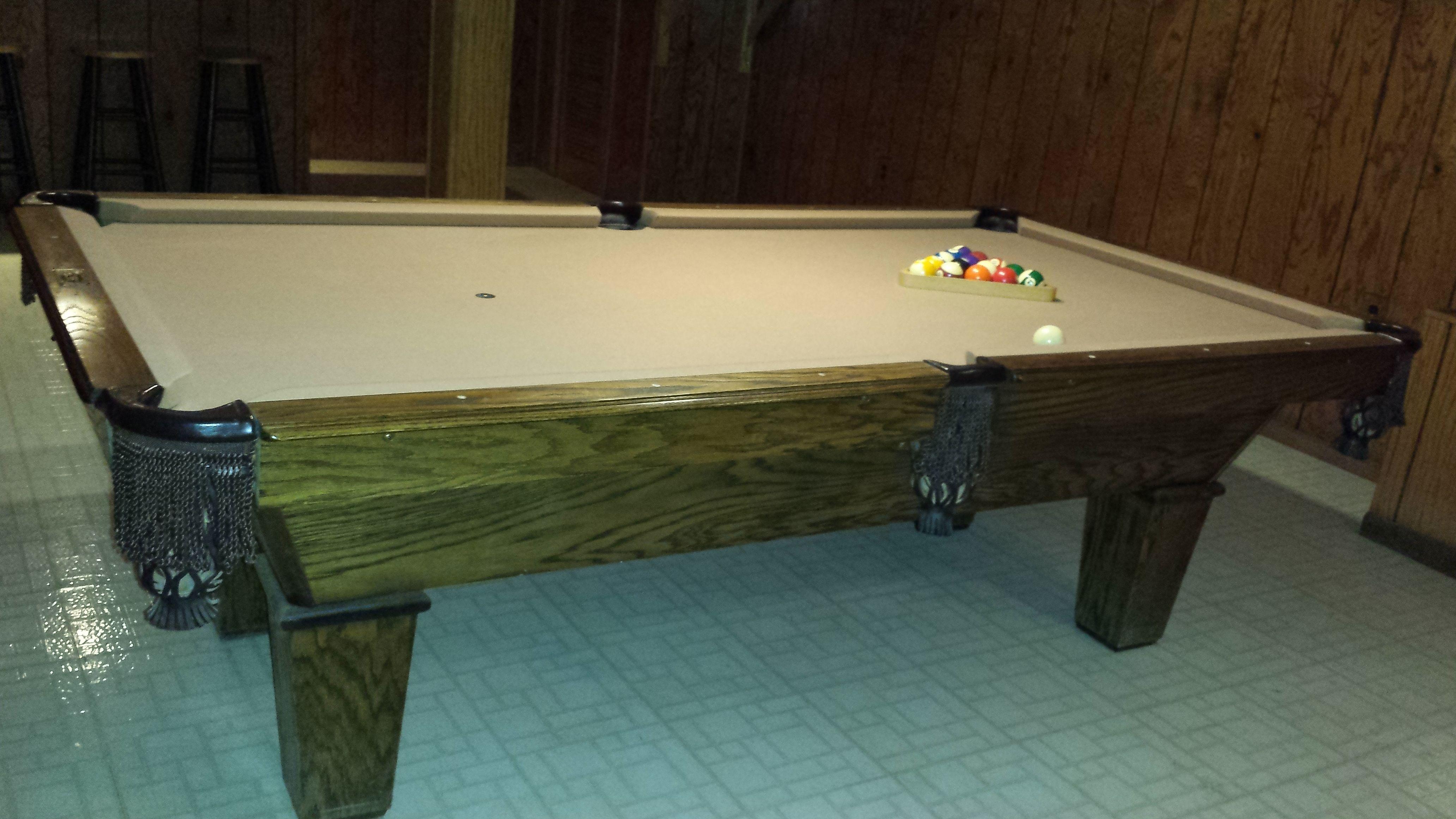 World Of Leisure Billiards Pool Table 8'