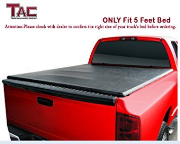 Tac 2015 2016 Chevy Colorado Gmc Canyon 5ft 60 Inch Bed Tri Fold Cover Tonneau Cover Bed Cover Review 2017 Tonneau Cover Truck Bed Truck Bed Covers