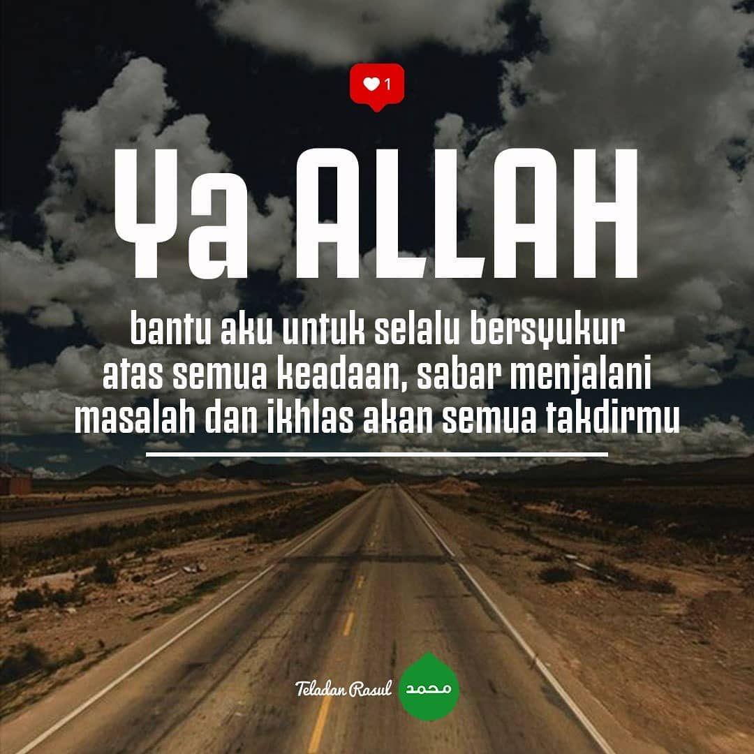 Teladan Rasul Di Instagram Aamiin Yaa Allah Teladanrasul