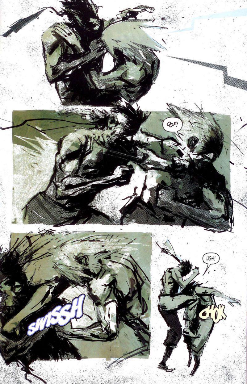 Resultado de imagem para metal gear comics ashley wood