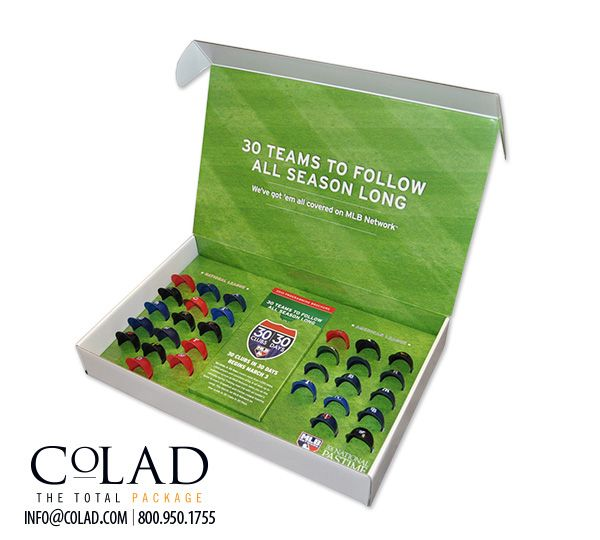 Creative Custom Promotional Packaging from Colad.  See more of Colad's Custom Packaging Designs: http://www.colad.com/products/ #packaging #sales #marketing #advertising #brandrecognition