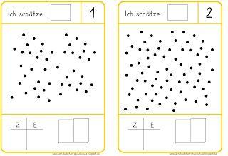 sch tzen b ndeln z hlen fejleszt s mathe mathematikunterricht und matheunterricht. Black Bedroom Furniture Sets. Home Design Ideas