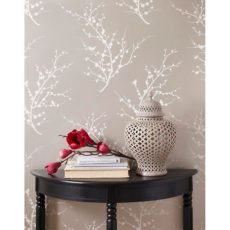 Best Champagne Self Adhesive Wallpaper Makes This Hallway 400 x 300