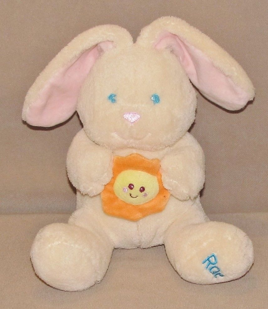 Kids Ii 2 Cream Rae Bunny Rabbit You Are My Sunshine Baby Plush Toy