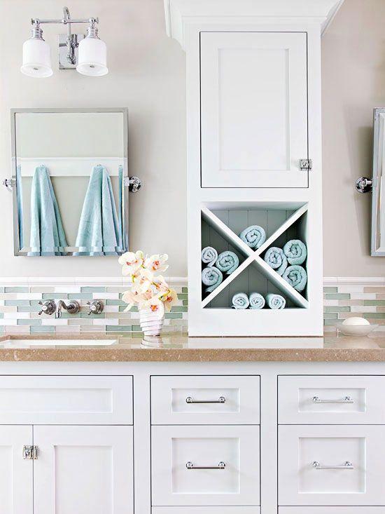 Bathroom vanity solutions vintage style vanities and Bathroom vanity storage organization