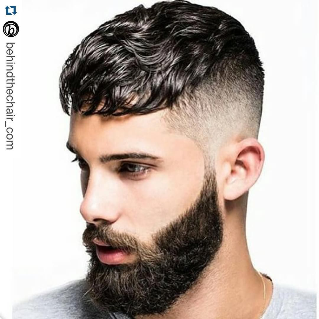 Hair And Beard Style With Images Thick Hair Styles Short