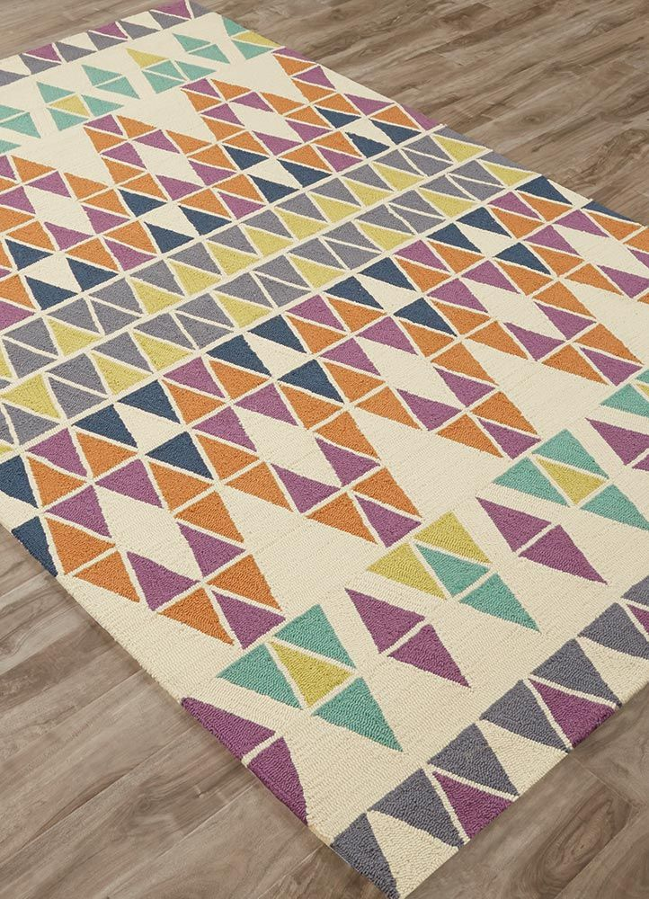 These catalina rugs will add a pop to any outdoor space with its