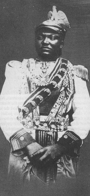 World Bedroom Furniture: King Njoya Of Bamum, A Ruler Of Western German Cameroon