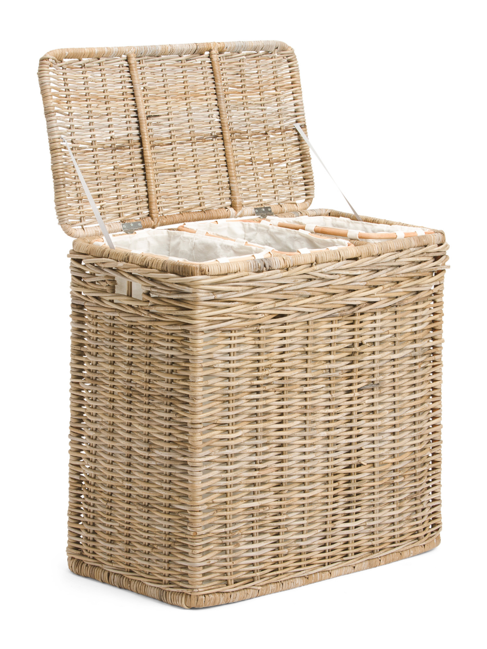 3 Section Kobo Hamper With Lining Bedroom T J Maxx Bedroom