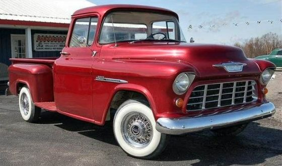 Photo Of 1955 Chevrolet 3200 Pickup With Images Classic Cars