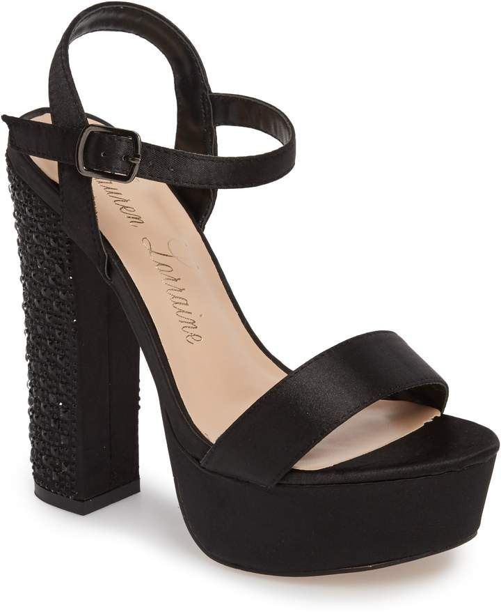 7e09c51d5f66 Lauren Lorraine Carly Platform Sandal