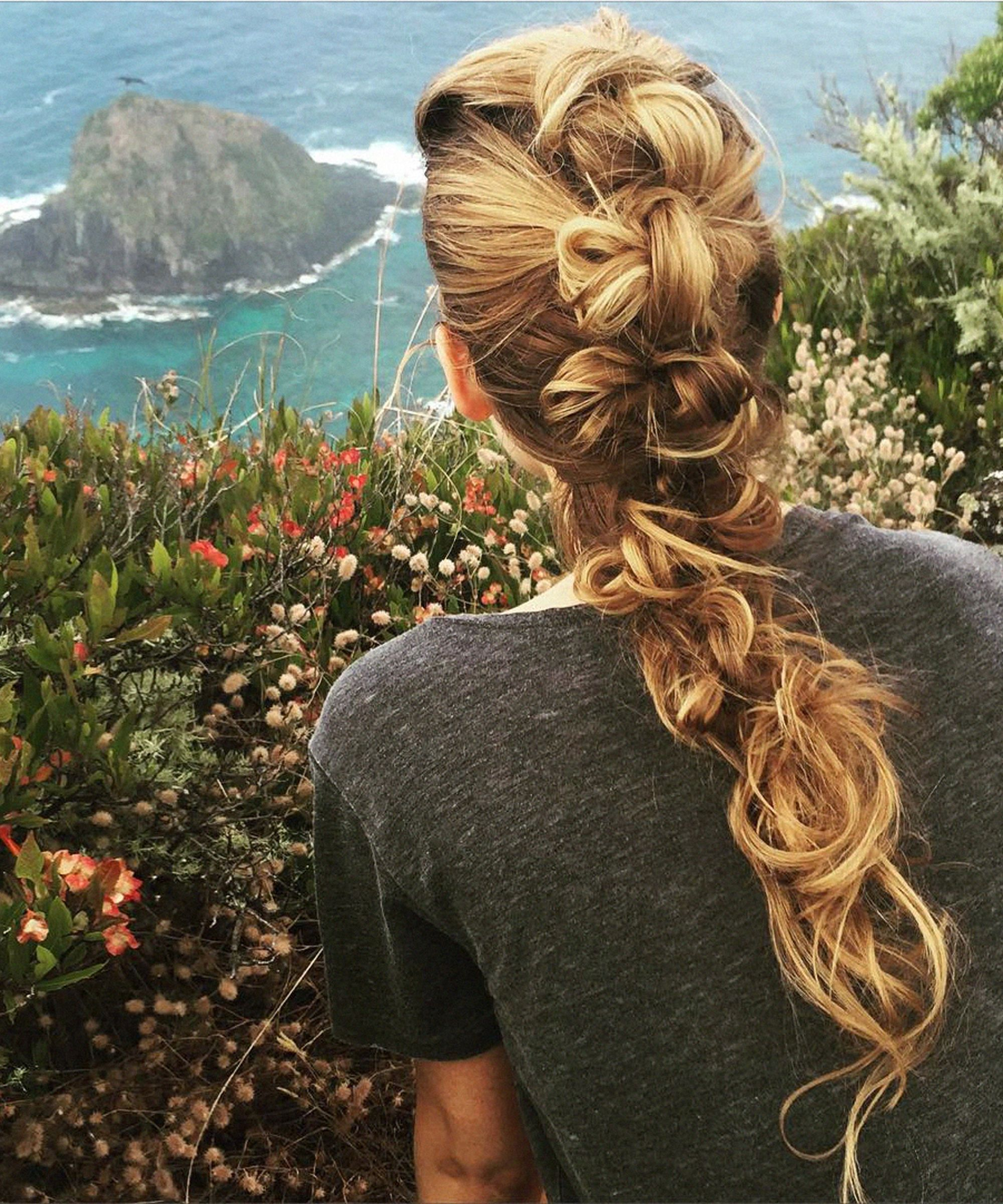 Blake Lively Hiking Braid Tutorial | Blake Lively's hairstylist, Rod Ortega, shares all the details on her beautiful braid.