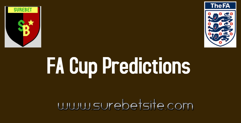 Fa cup predictions today/betting horse betting sites licensed in the usa