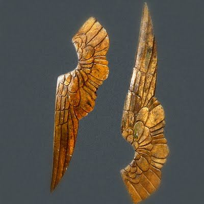 Gilded Wooden Wings from Greyfreth