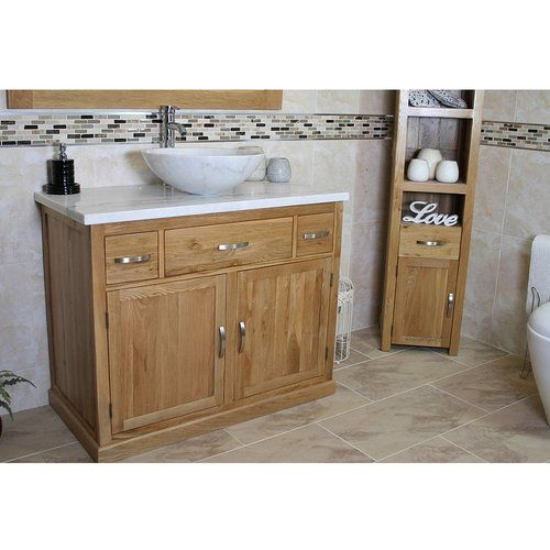 Judah Solid Oak 1000mm Free Standing Vanity Unit Belfry Bathroom Sink Finish White Vanity Units Freestanding Vanity Unit Bathroom Vanity Units