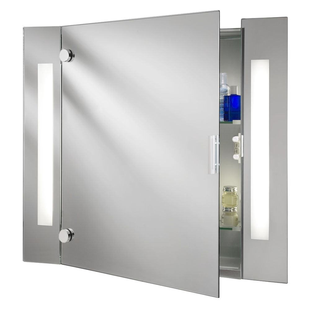 bathroom mirror cabinets with light and shaver socket | pinterdor ...